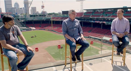 HubSpot Executive Team at Fenway Park