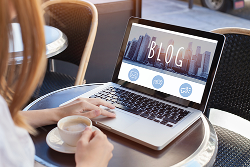 Writing a blog for business in five easy steps