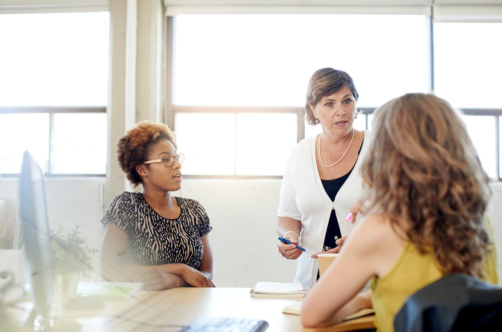 Meeting an agency for your business