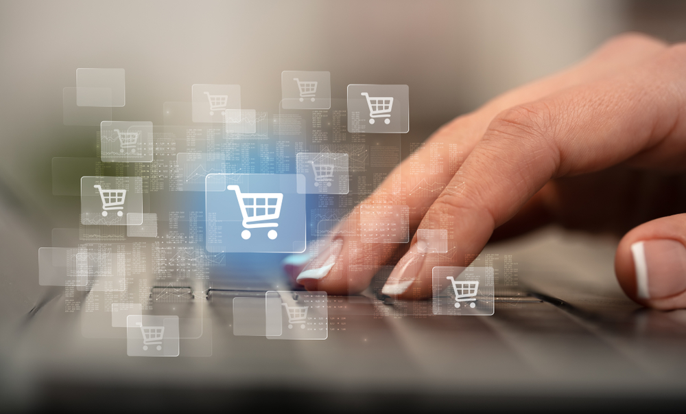 Image of ecommerce retailers and online business