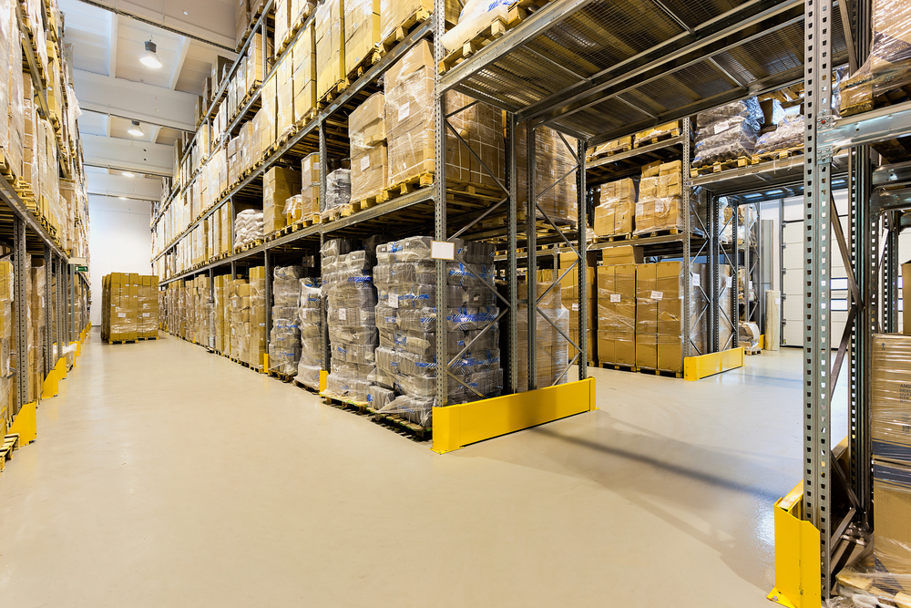 warehouse and ecommerce distribution facility and packaging
