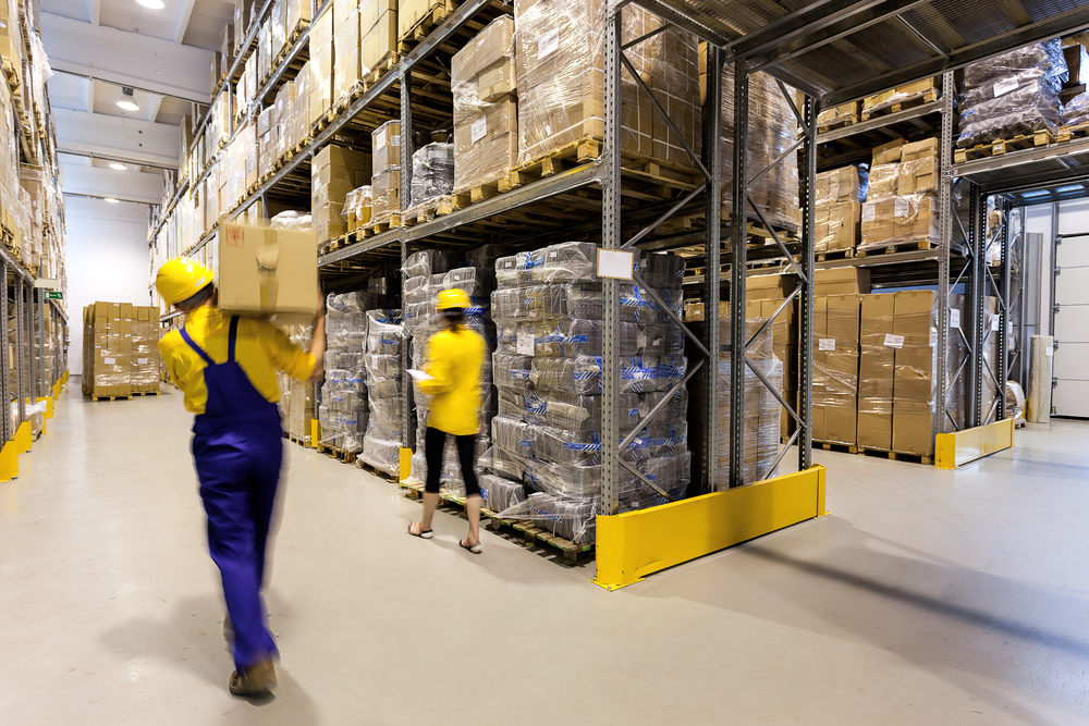 Warehouse and operations signage improving efficiency